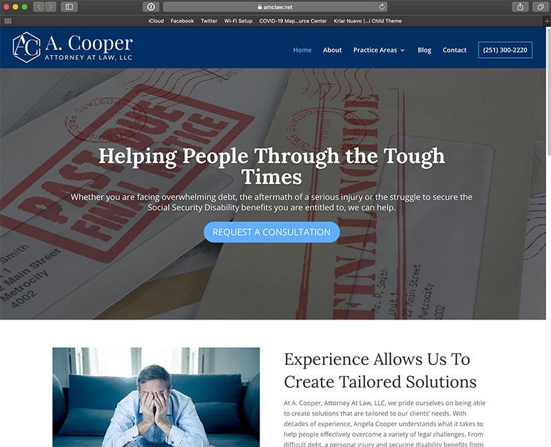 A. Cooper, Attorney